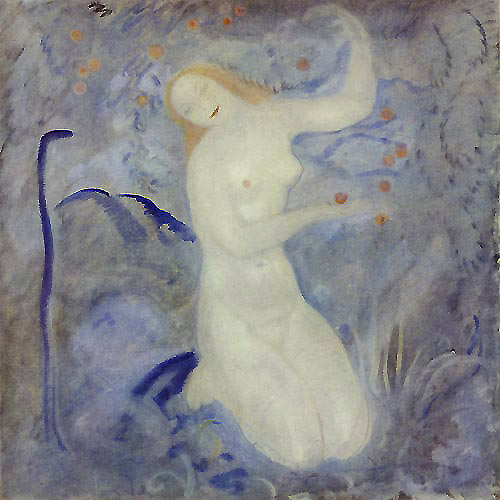 Eve  Later paintings  John Bauer illustration
