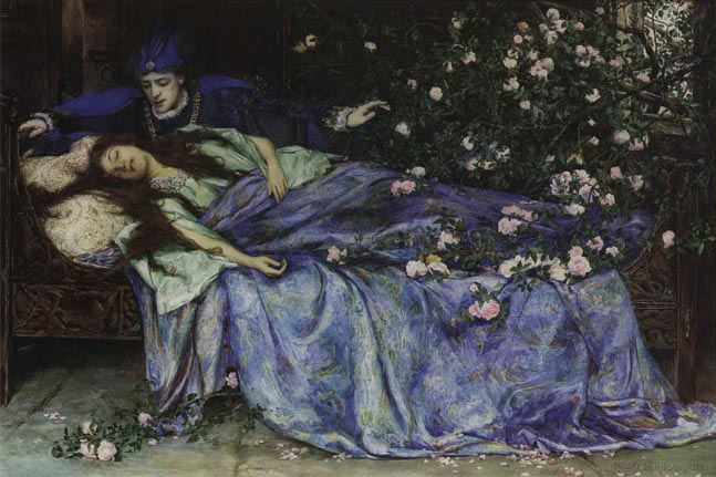 Sleeping Beauty, by Henry Maynell Rheam