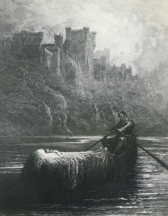 Elaine, Gustave Dore
