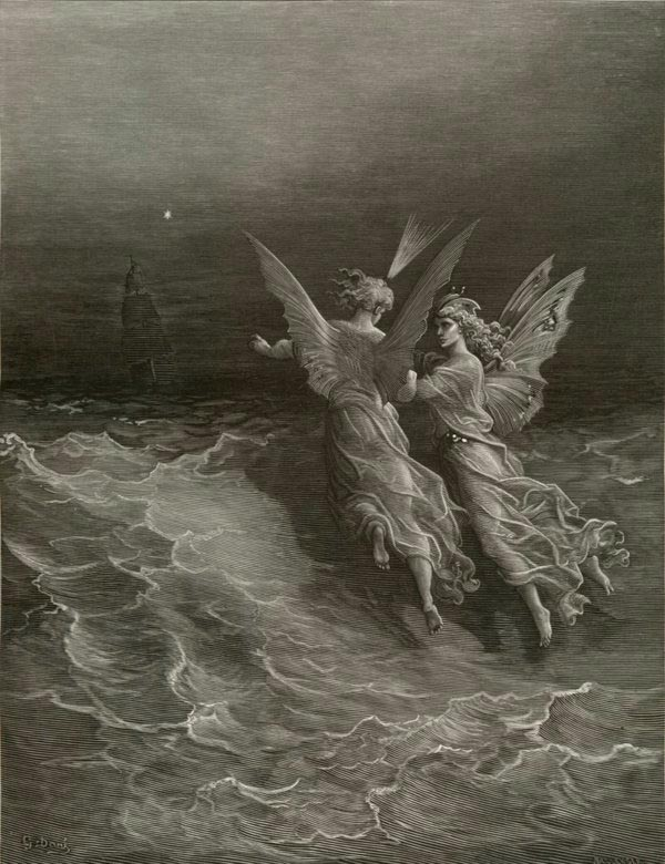 Gustave Dore, Without Wave or Wind, from the illustrations to The Rime of the Ancient Mariner