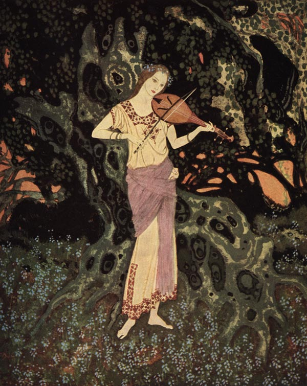 Out of Another World  Stealers of Light  Edmund Dulac illustration