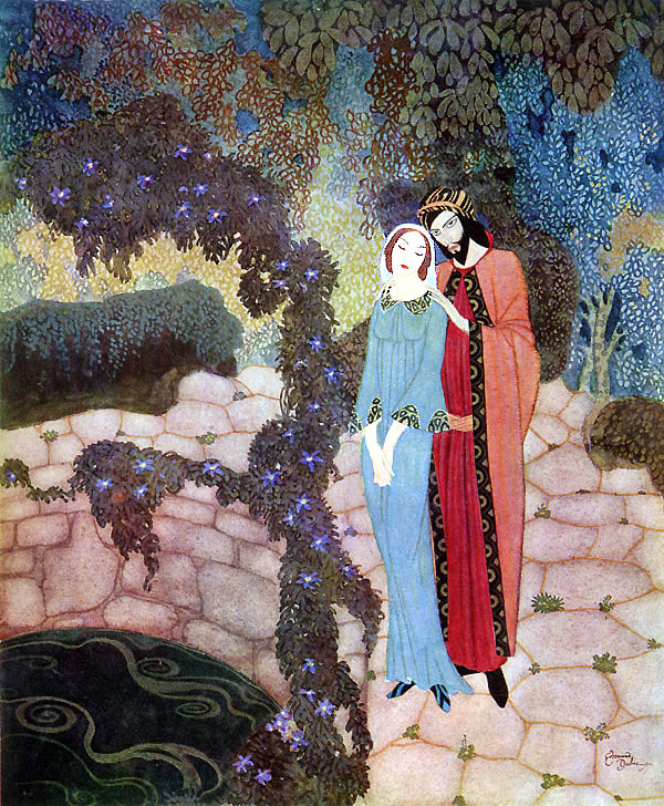 Stealers of Light  Stealers of Light  Edmund Dulac illustration