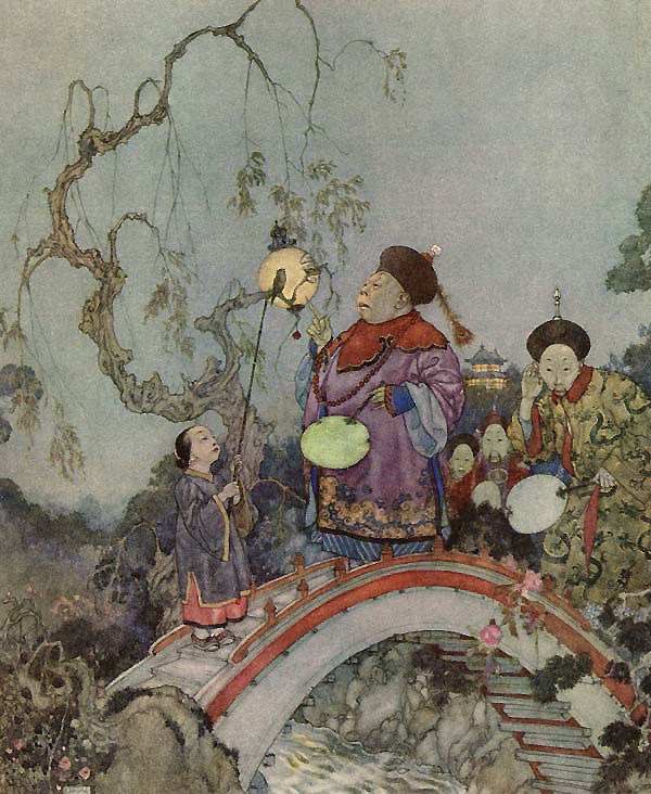 Is it Possible?  The Nightingale  Edmund Dulac illustration