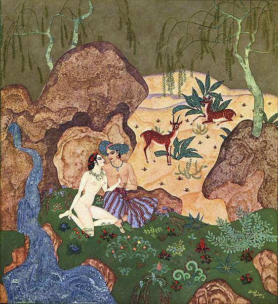 Pearl of Love by Edmund Dulac    Kingdom of the Pearl  Edmund Dulac illustration