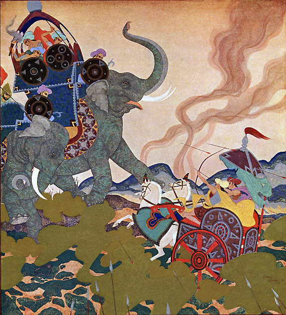 Pearl of the Warrior by Edmund Dulac    Kingdom of the Pearl  Edmund Dulac illustration