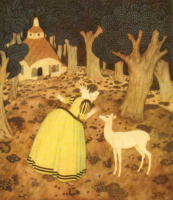 dulac fairy tale illustration. Pinned for later from dulac.artpassions.net