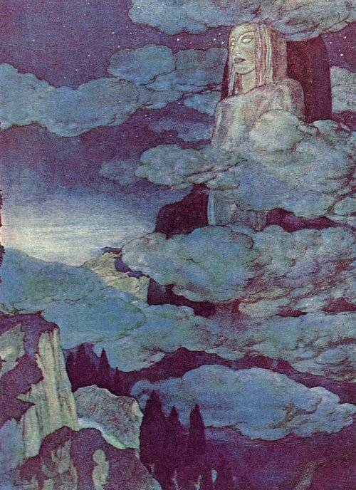 Pinned for later from artpassions.net:  Edmund Dulac