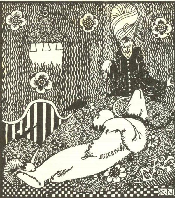 Kay Nielsen illustration