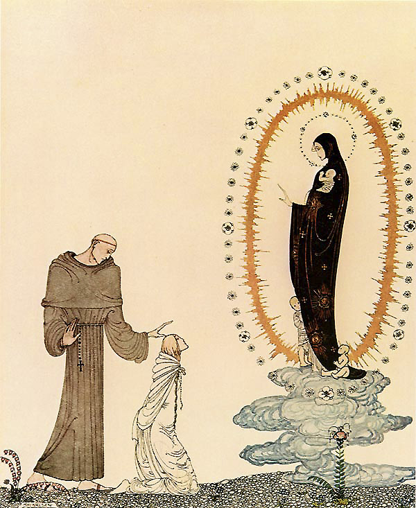 I am the Virgin Mary    East of the Sun, West of the Moon  Kay Nielsen illustration