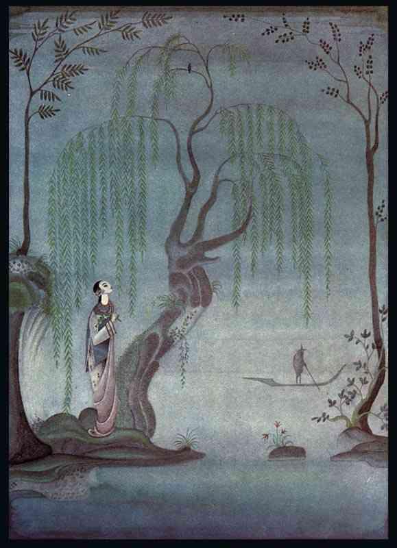 The Nightingale    Fairy Tales of Hans Christian Andersen  Kay Nielsen illustration