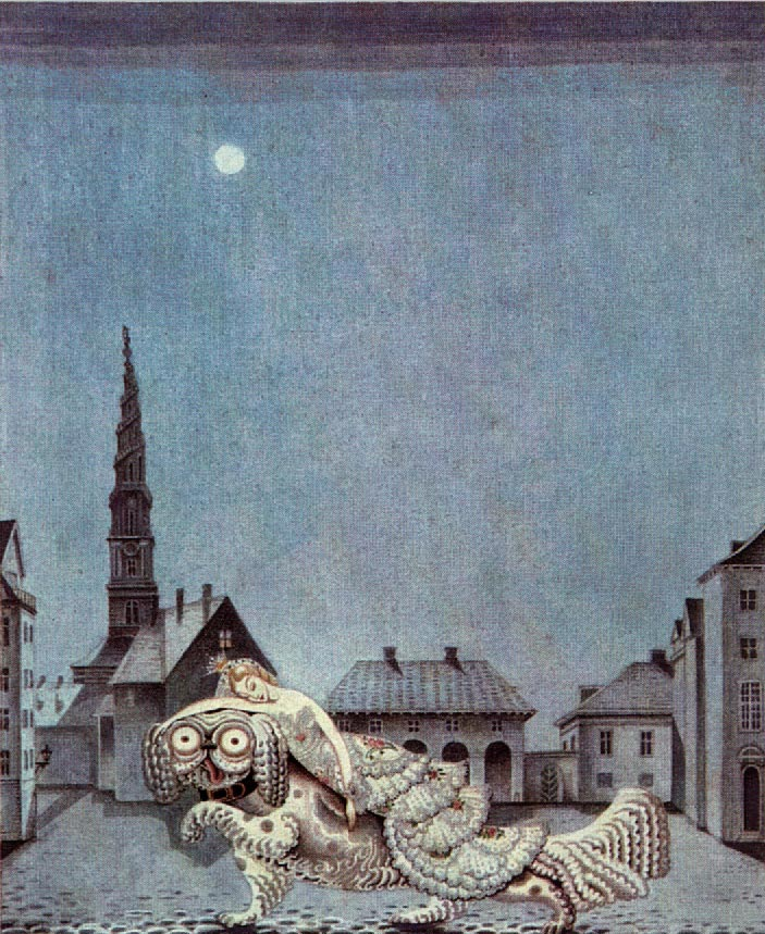 The Tinder Box    Fairy Tales of Hans Christian Andersen  Kay Nielsen illustration