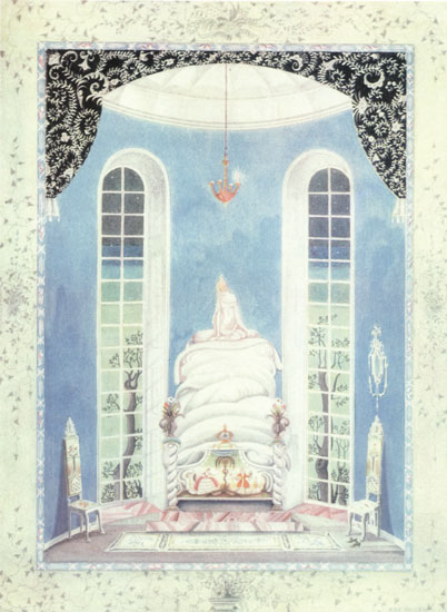 The Princess and the Pea  Fairy Tales of Hans Christian Andersen  Kay Nielsen illustration