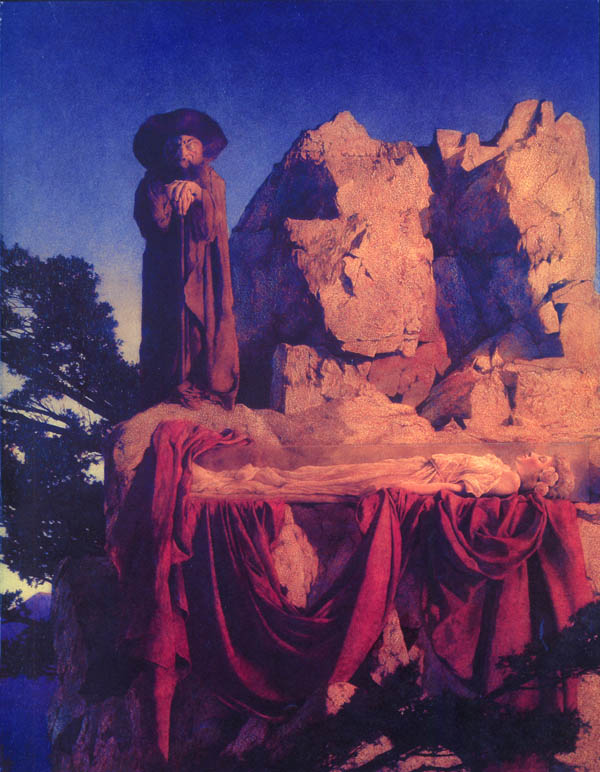 Maxfield Parrish: Snow White