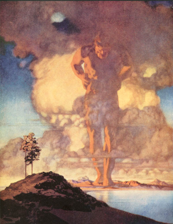 Maxfield Parrish illustration