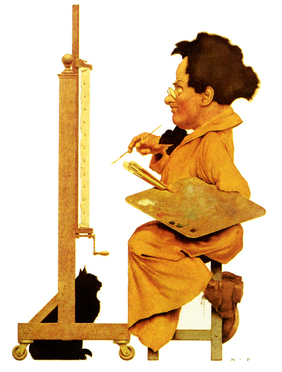 Maxfield Parrish, a Self Portrait
