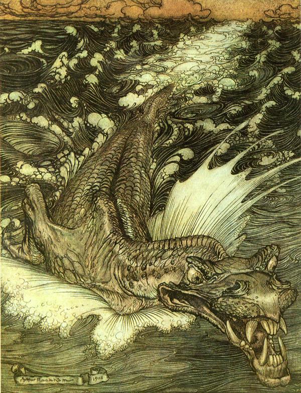 Arthur Rackham, Leviathan