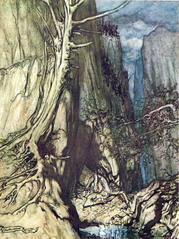 Pinned for later from artpassions.net:  Arthur Rackham