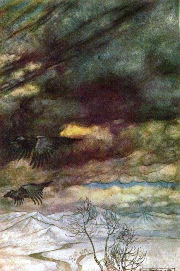 Pinned for later from artpassions.net:  Arthur Rackham