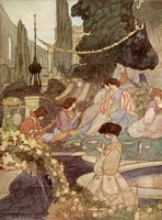 The Happy Prince: The Palace of Sans Souci, Charles Robinson