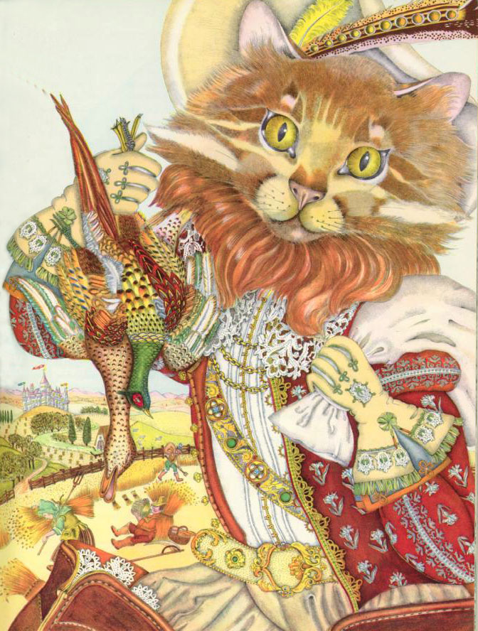 Puss in Boots  The Fairy Tale Book  Adrienne Segur illustration
