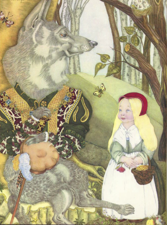 segur fairy tale illustration. Pinned for later from artpassions.net