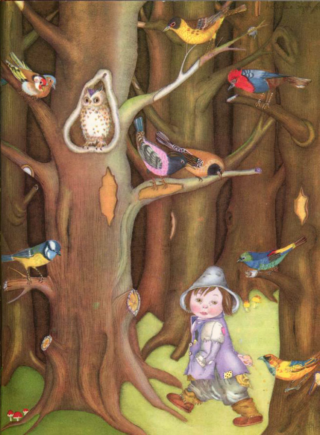 Thumbkin  The Fairy Tale Book  Adrienne Segur illustration
