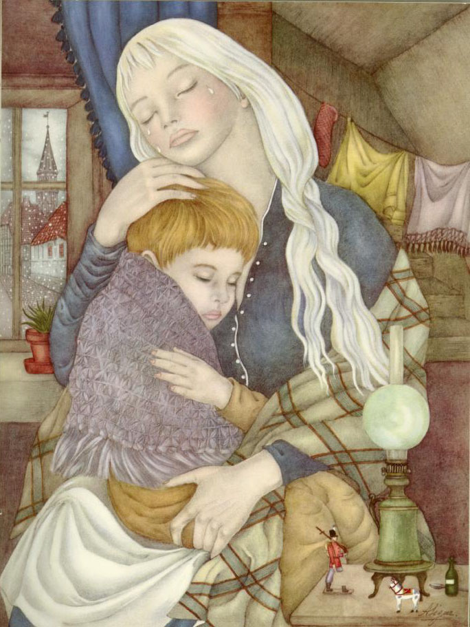 The Story of a Mother  Ib and Christine  Adrienne Segur illustration