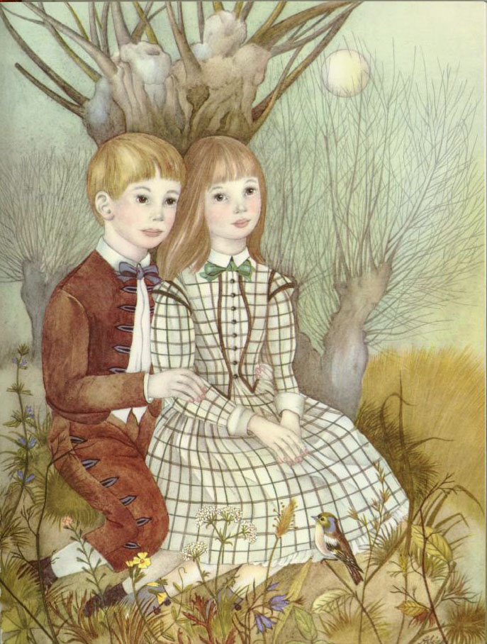 Weeping Willow Tree  Ib and Christine  Adrienne Segur illustration