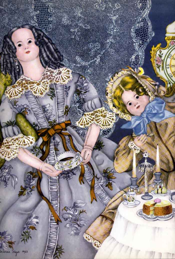 Tea Party 1  The Nucracker  Adrienne Segur illustration