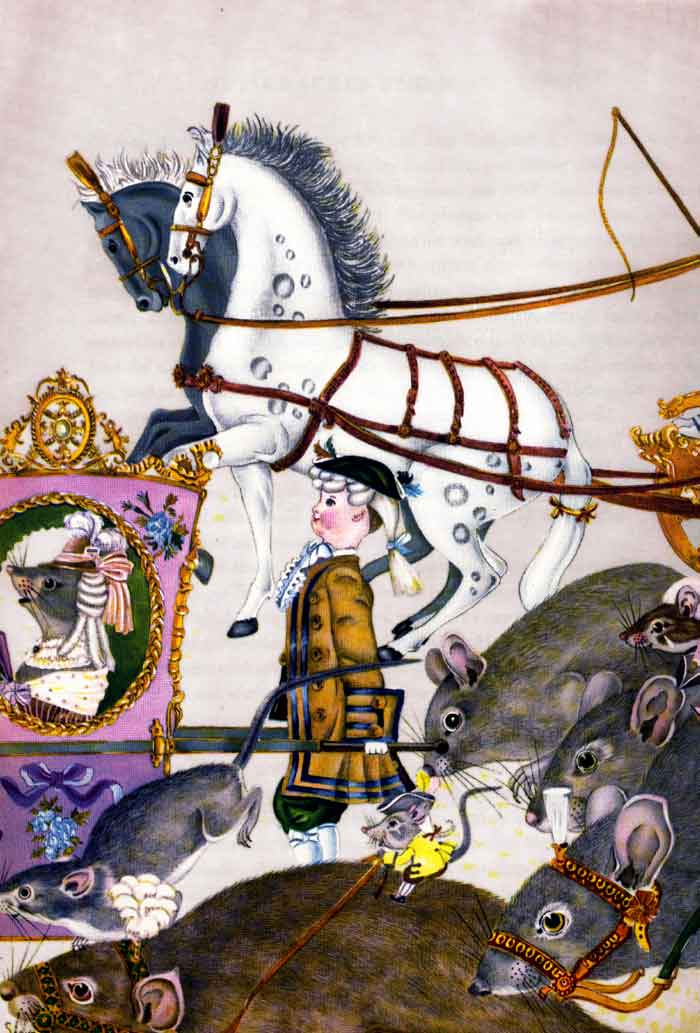 Search for the Nut Crackatuk 1  The Nucracker  Adrienne Segur illustration