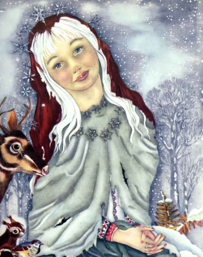 Winter Bride  The Snow Queen and Other Stories  Adrienne Segur illustration