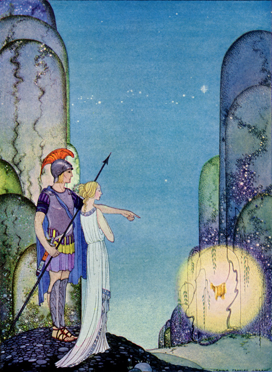 sterrett fairy tale illustration. Pinned for later from artpassions.net