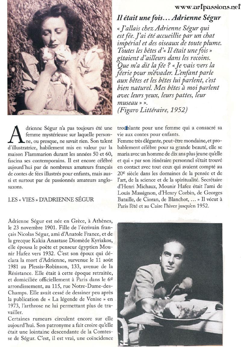 Adrienne Segur and her husband, Mounir Hafez