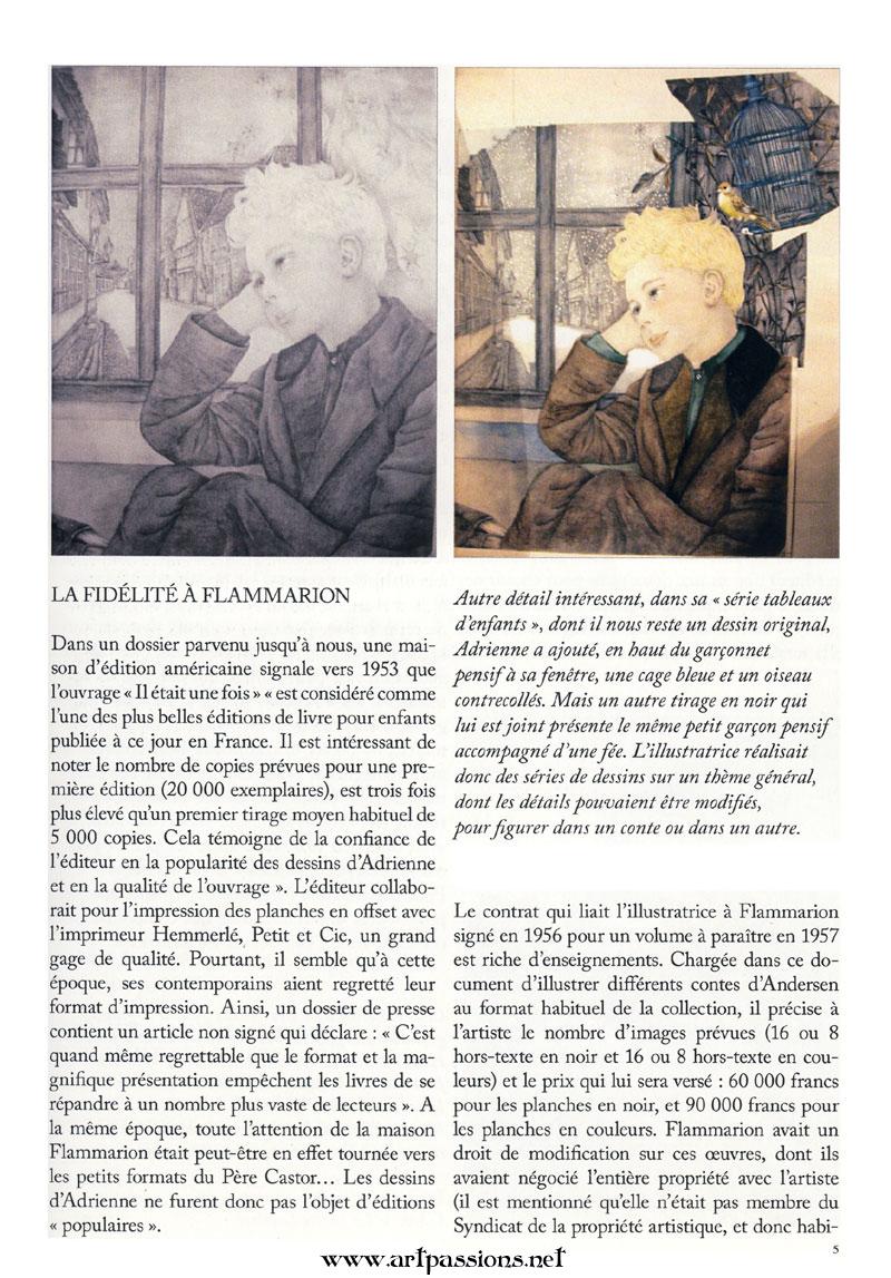 Adrienne Segur, Flammarion