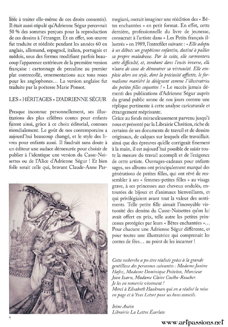 Adrienne Segur, biography