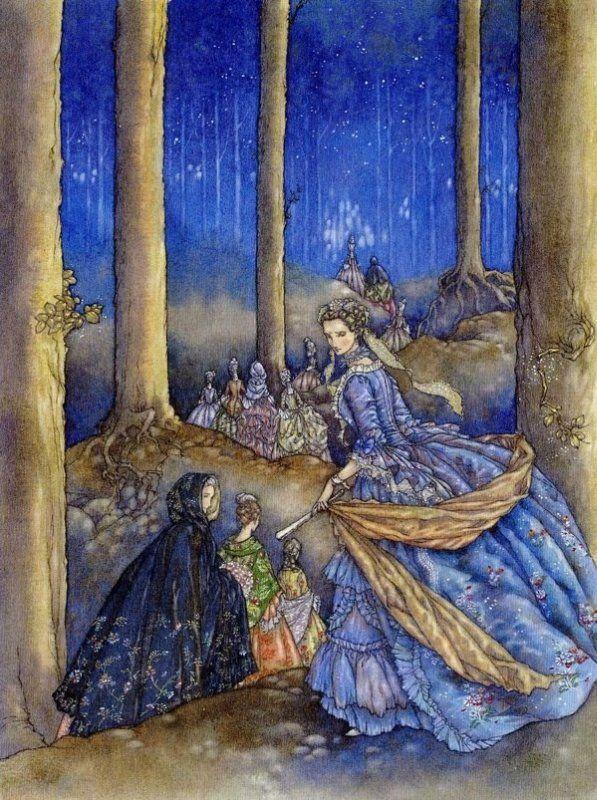 Twelve Dancing Princesses by Niroot Puttapipat