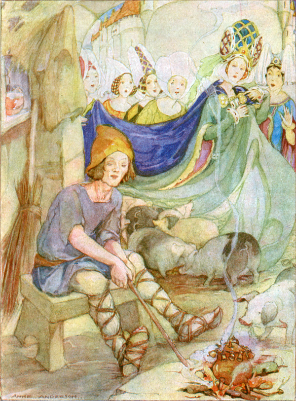 - anderson fairy tale illustration. Pinned for later from artpassions.net