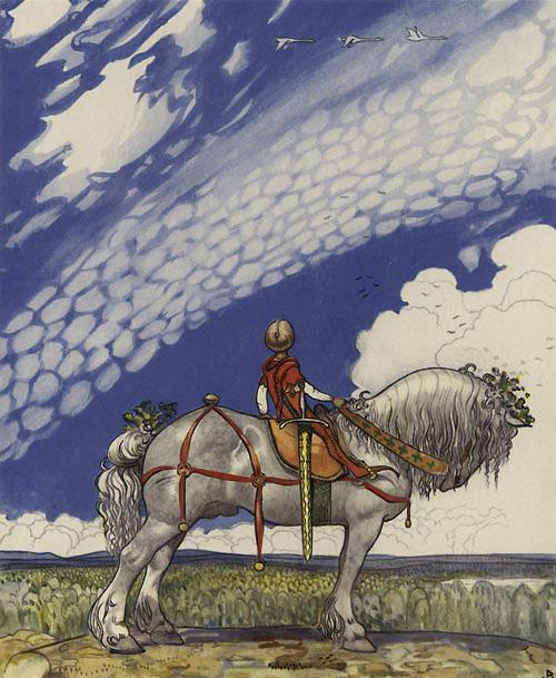 John Bauer illustration