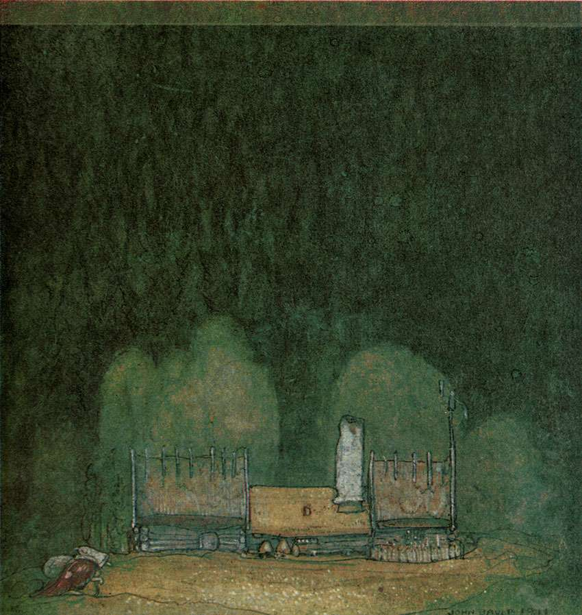 John Bauer illustration