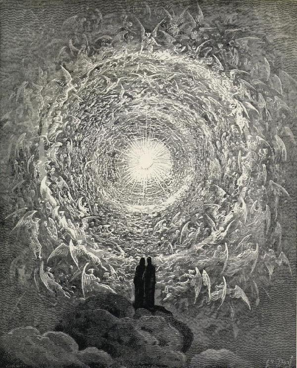 The Celestial Host in the Form of a Rose