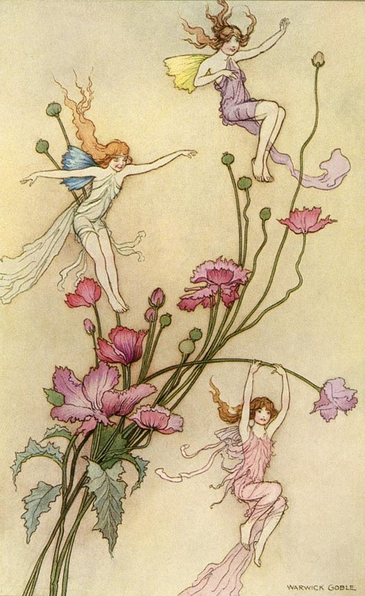 - goble fairy tale illustration. Pinned for later from artpassions.net
