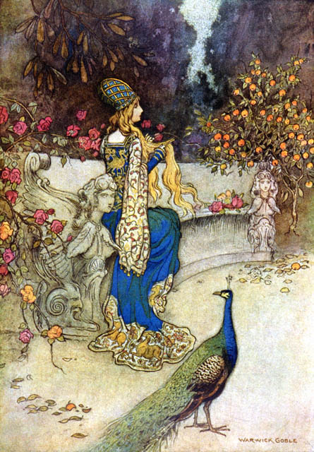 Warwick Goble illustration