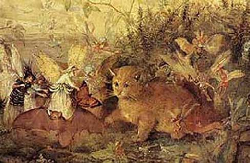 Cat Among the Fairies