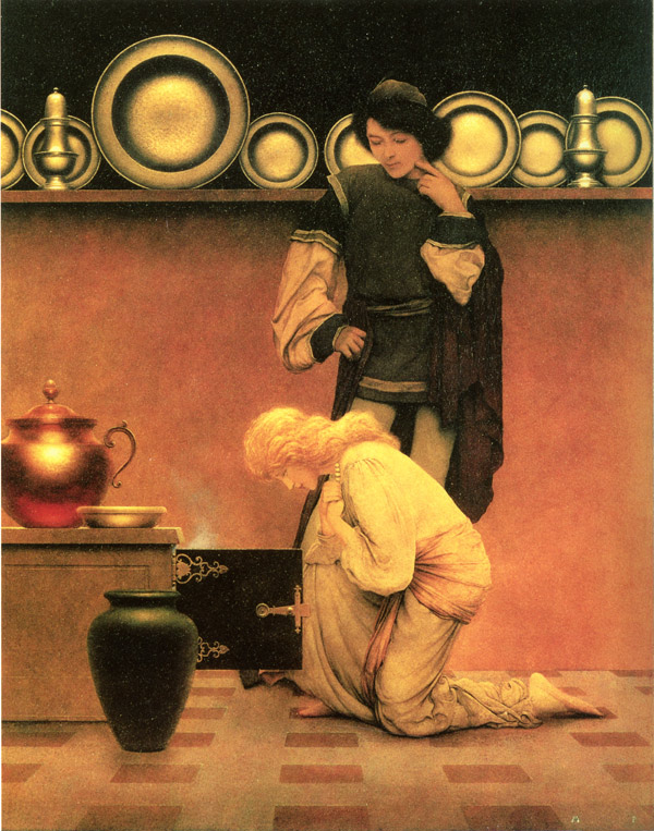 Maxfield Parrish: The Knave of Hearts