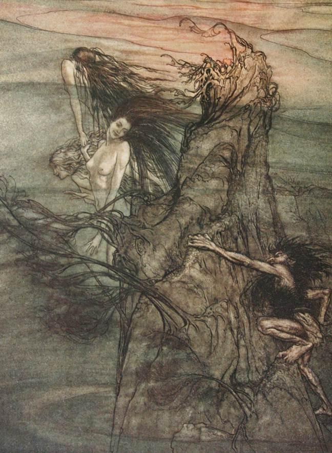 Arthur Rackham illustration