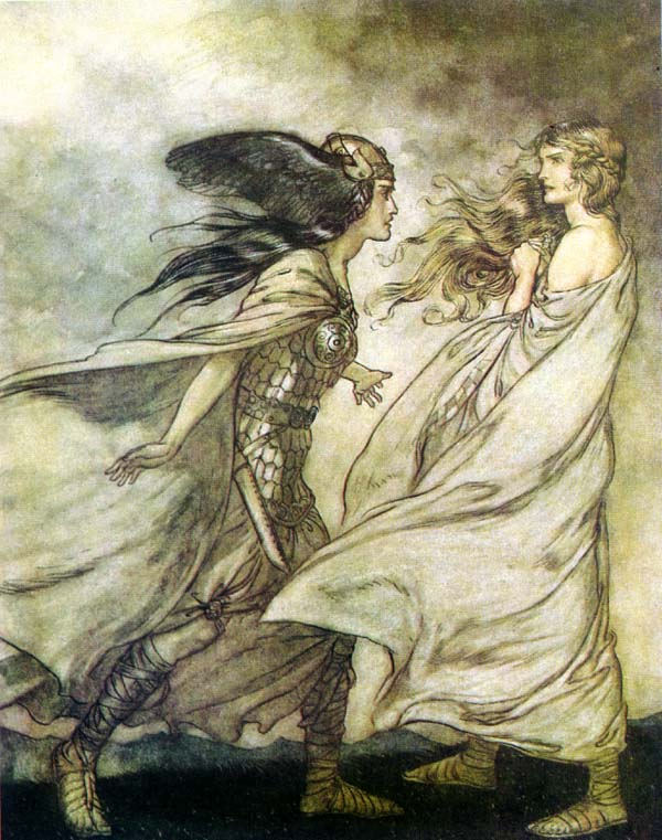 - rackham fairy tale illustration. Pinned for later from artpassions.net