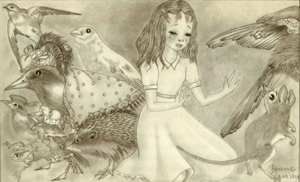 Adrienne Segur illustration