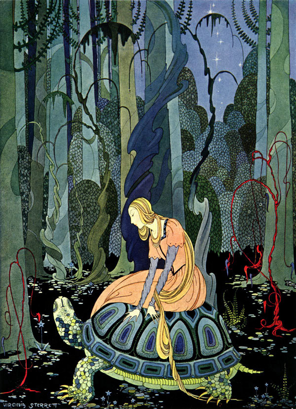- sterrett fairy tale illustration. Pinned for later from artpassions.net