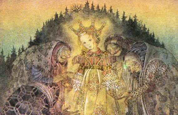 - wulfing fairy tale illustration. Pinned for later from artpassions.net