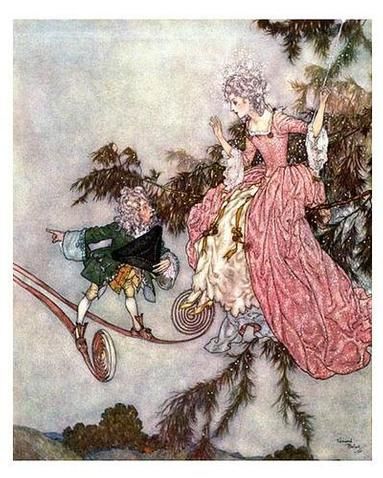 Edmund Dulac, News brought by a Dwarf